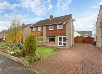 Thumbnail 3 bed semi-detached house for sale in 95 Weavers Knowe Crescent, Currie