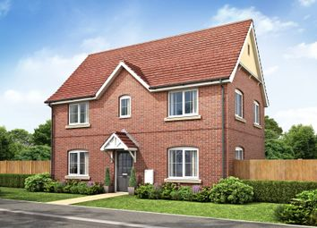 Thumbnail 3 bed detached house for sale in Chequers Road, Tharston, Norwich