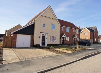 Thumbnail 3 bed end terrace house for sale in Stephens Drive, Brightlingsea, Colchester