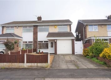 Thumbnail 3 bed semi-detached house for sale in Raithby Drive, Wigan