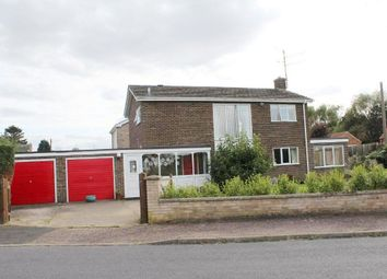 Thumbnail 4 bedroom detached house for sale in Meadow Road, South Wootton, King's Lynn
