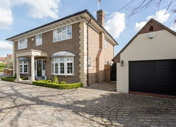 Thumbnail 4 bedroom detached house for sale in Gidea Close, Romford