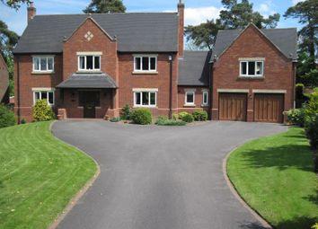 Thumbnail 5 bed detached house to rent in Pickburn Gardens, Kilburn, Belper