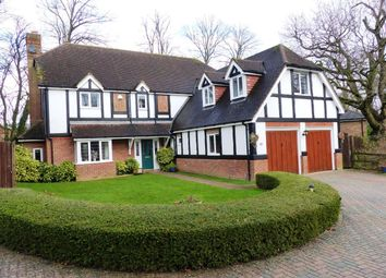 Thumbnail 5 bed detached house for sale in Cliddesden Court, Basingstoke