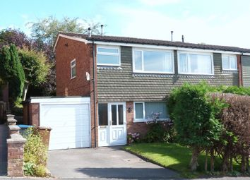 Thumbnail 3 bed semi-detached house to rent in Rownall View, Leek