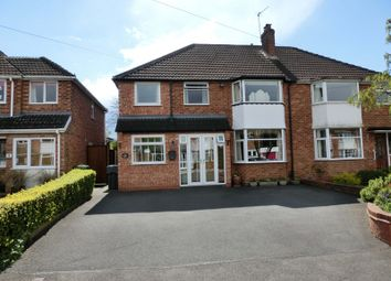 Thumbnail 4 bed semi-detached house for sale in Ann Road, Wythall, Birmingham