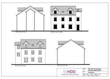 Thumbnail 5 bed detached house for sale in Plot 140, 17 Carr Road, Buxton, Derbyshire