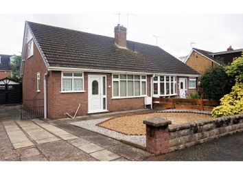 Thumbnail 2 bed semi-detached bungalow for sale in Hamilton Close, Crewe