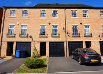 Thumbnail 4 bedroom town house for sale in Bridgeside Way, Derby