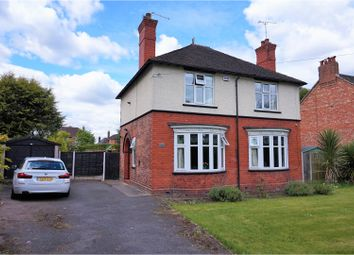 Thumbnail 3 bed detached house for sale in London Road, Northwich