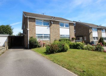 Thumbnail 3 bed semi-detached house for sale in Leighton Close, Crossgates, Scarborough