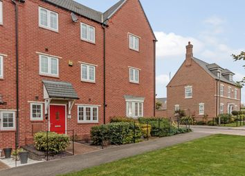 Thumbnail 4 bed town house for sale in Salford Way, Swadlincote, Derbyshire