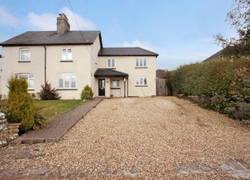 Thumbnail 3 bed semi-detached house for sale in Roughmoor Lane, Westbury Sub Mendip, Wells
