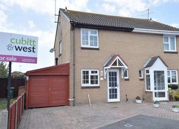 Thumbnail 3 bed semi-detached house for sale in Kynon Gardens, Bognor Regis, West Sussex