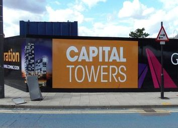 Thumbnail 2 bedroom flat for sale in Sky View Tower, Capital Towers, Stratford, London