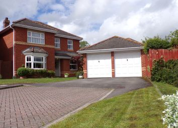 Thumbnail 4 bed detached house for sale in Marsum Close, Andover
