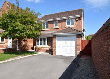 Thumbnail 3 bedroom detached house for sale in Maddock Close, Shinfield, Reading