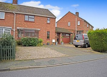 Thumbnail 3 bedroom semi-detached house for sale in Oak Green, Halesworth