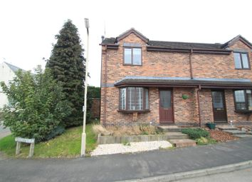 Thumbnail 2 bedroom semi-detached house to rent in Dovecote Close, Sapcote, Leicester