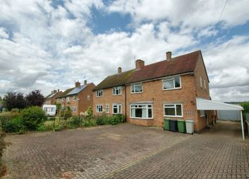 Thumbnail 3 bed semi-detached house for sale in Morcott Road, Wing, Oakham