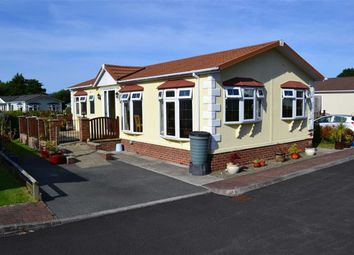 Thumbnail 2 bed mobile/park home for sale in Schooner Park, New Quay, Ceredigion