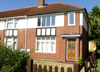 Thumbnail 3 bed semi-detached house to rent in Beeching Road, Norwich