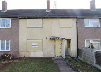 Thumbnail 3 bed terraced house for sale in Hawford Avenue, Kidderminster
