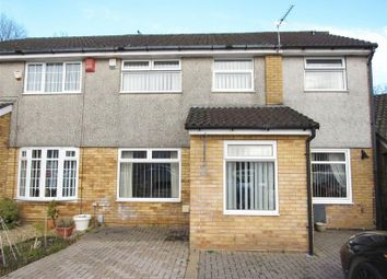 Thumbnail 4 bedroom semi-detached house for sale in Aintree Drive, Cardiff
