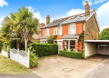 Thumbnail 3 bed semi-detached house for sale in Staines Road, Staines-Upon-Thames, Surrey