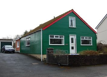Thumbnail 2 bed detached bungalow for sale in Thornhill Road, Cwmgwili, Llanelli