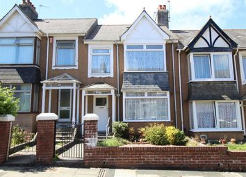 Thumbnail 3 bed terraced house for sale in East Park Avenue, Mutley, Plymouth
