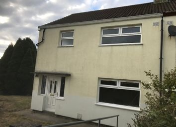 Thumbnail 3 bedroom semi-detached house to rent in Ty-Coch, Rhymney