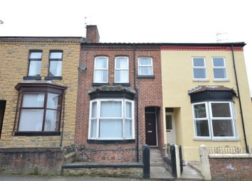 Thumbnail 4 bedroom terraced house for sale in Waterloo Road, Runcorn, Cheshire