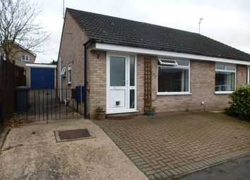 Thumbnail 2 bed semi-detached bungalow for sale in Brunton Close, Mickleover, Derby