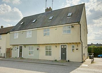 Thumbnail 4 bed semi-detached house for sale in Dunmow Road, Leaden Roding, Dunmow, Essex