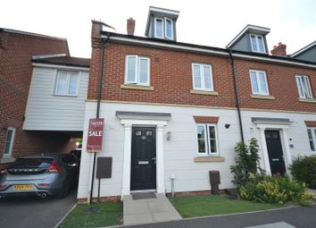 Thumbnail 4 bedroom town house for sale in Bristol Road, New Costessey, Norwich