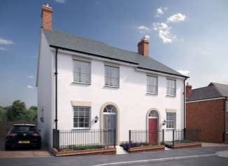 Thumbnail 3 bed semi-detached house for sale in The Dene, Church View, Recreation Ground Road, Tenterden, Kent