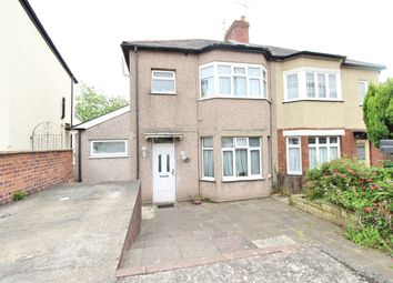 Thumbnail 3 bed semi-detached house for sale in Queens Hill Crescent, Newport
