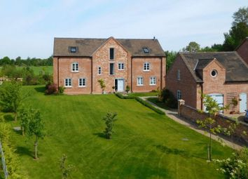Thumbnail 5 bed detached house for sale in Hall Lane, Hankelow, Crewe