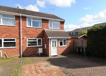 Thumbnail 3 bed semi-detached house to rent in Lyall Close, Loughborough