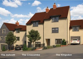 "Thumbnail 3 bedroom town house for sale in ""The Croscombe"" At Pesters Lane, Somerton TA11, Somerton,"