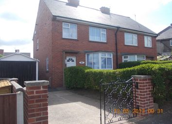 Thumbnail 3 bed semi-detached house to rent in Hounsfield Crescent, Rotherham