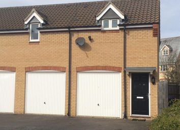 Thumbnail 1 bedroom flat to rent in Bullrush Lane, Great Cambourne, Cambourne, Cambridge