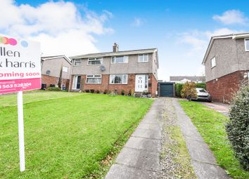Thumbnail 3 bed semi-detached house for sale in Bridesburn Place, Stewarton, Kilmarnock