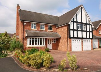 Thumbnail 5 bed detached house for sale in Chater Drive, Stapeley, Nantwich