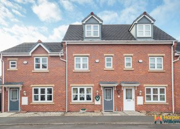 Thumbnail 3 bed town house for sale in Lavender Gardens, Warrington