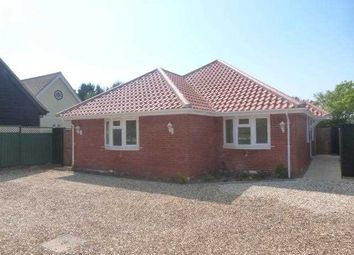 Thumbnail 3 bed bungalow to rent in East View, Church Lane, Claydon