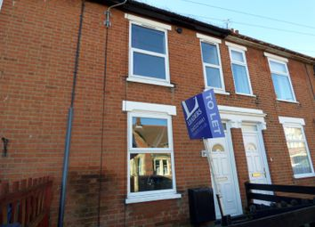 Thumbnail 3 bedroom terraced house to rent in Clifford Road, Ipswich
