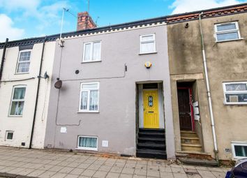 Thumbnail 4 bed terraced house for sale in Roman Bank, Skegness