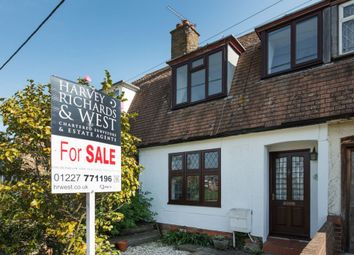 Thumbnail 2 bed terraced house for sale in Cornwallis Circle, Whitstable
